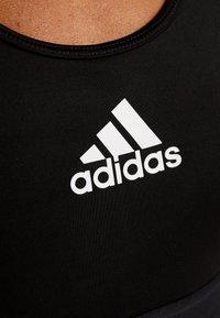adidas Performance - DESIGNED4TRAINING WORKOUT BRA MEDIUM SUPPORT - Sujetador deportivo - black - 6