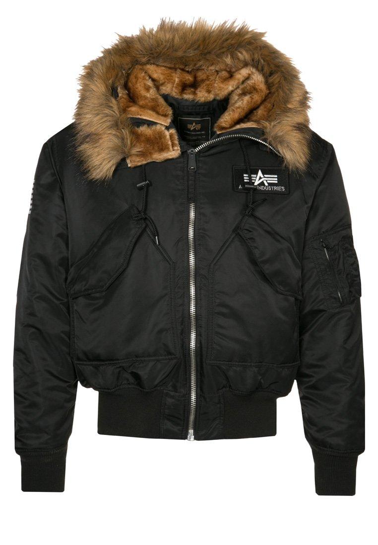 Alpha Industries - HOODED CUSTOM - Light jacket - black/reflective