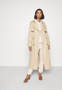 Missguided Petite - HOODIE AND JOGGER SET - Tracksuit - stone - 1