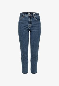 ONLY - EMILY  - Džíny Straight Fit - dark blue denim - 2