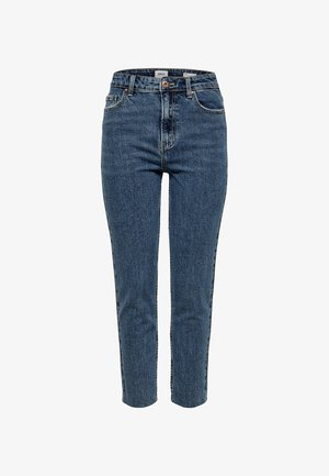 EMILY  - Jeansy Straight Leg - dark blue denim
