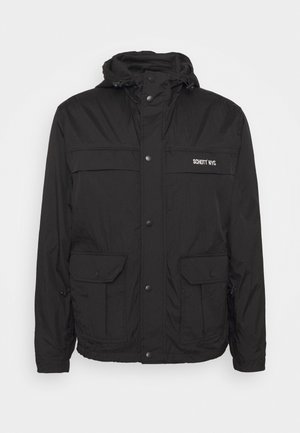 ALCYON - Summer jacket - black