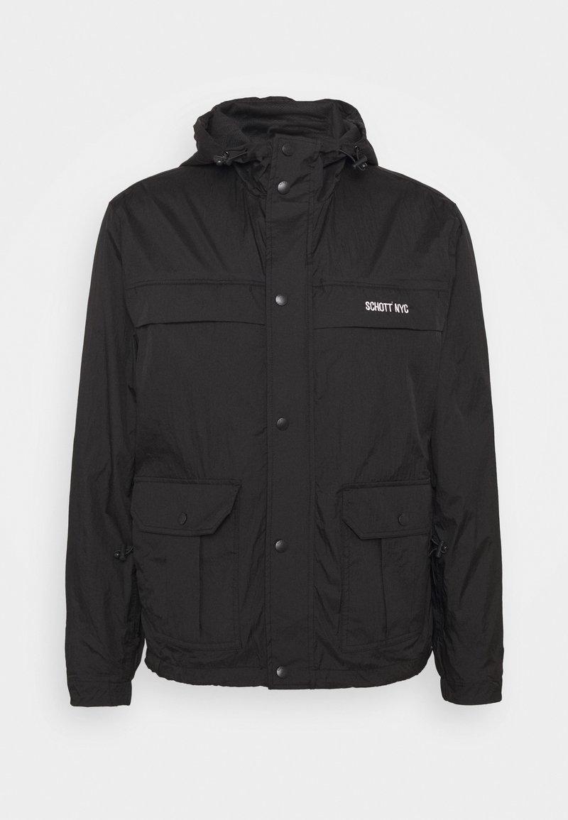 Schott - ALCYON - Summer jacket - black