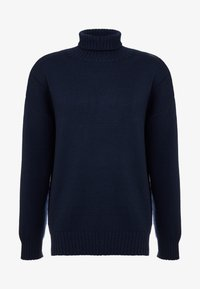Editions MR - LOUIS TURTLENECK  - Jersey de punto - navy