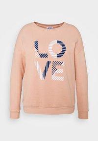 CAPSULE by Simply Be - SLOGAN LOVE - Sweatshirt - blush - 3