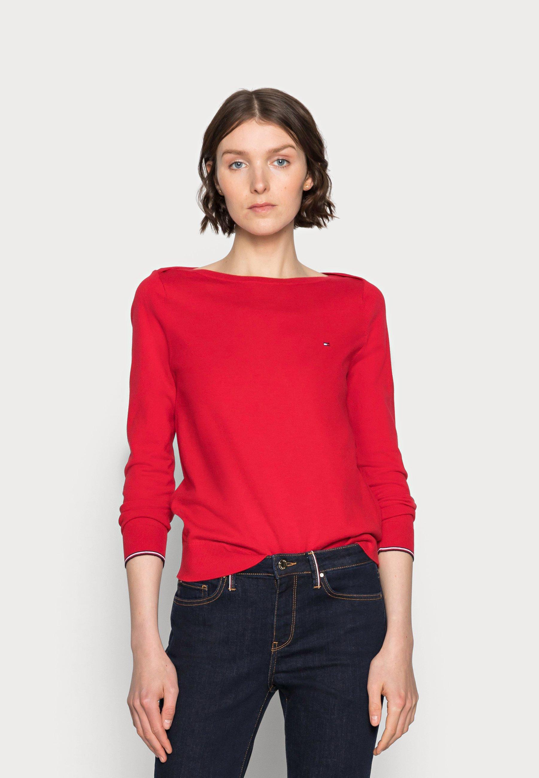 Damen BOAT NECK SWEATER - Strickpullover