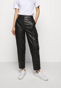 DESIGNERS REMIX - TALIA PANTS - Trousers - black - 0