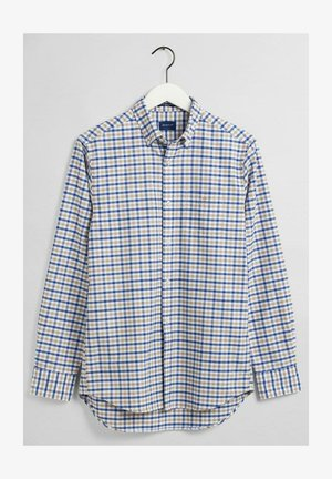 OXFORD - Shirt - braun/grün