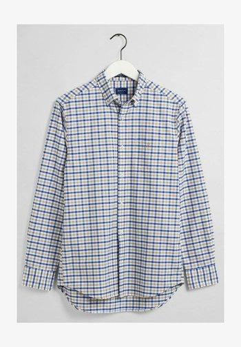 OXFORD - Shirt - braun/grün