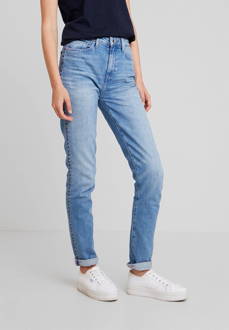 Tommy Hilfiger - RIVERPOINT CIGARETTE DELI - Slim fit jeans - blue denim