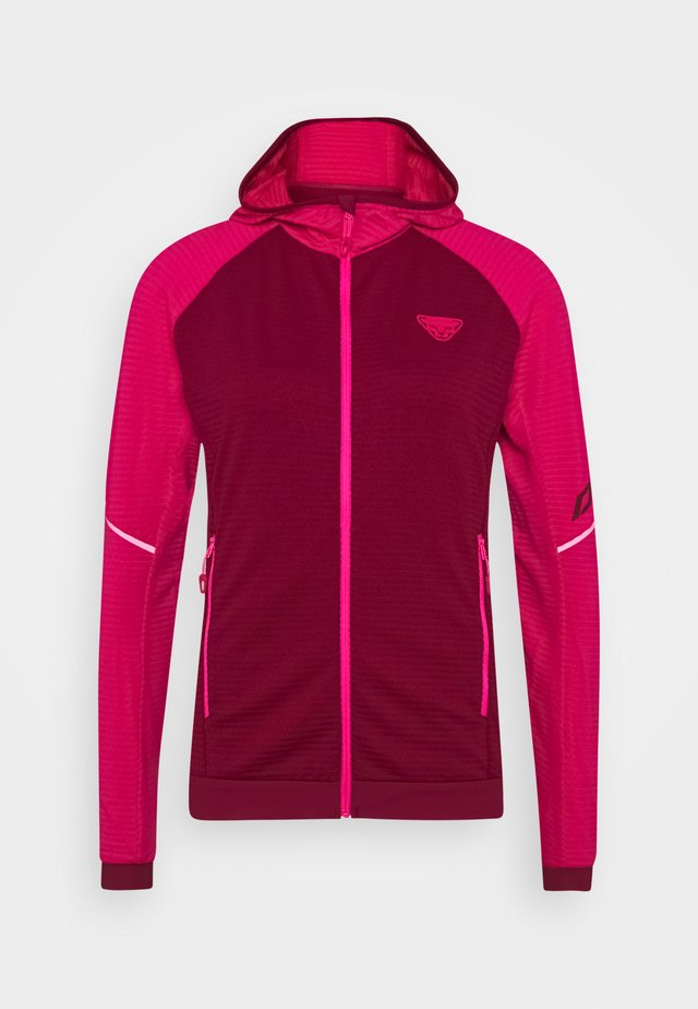 SPEED THERMAL HOODED - Veste de survêtement - flamingo