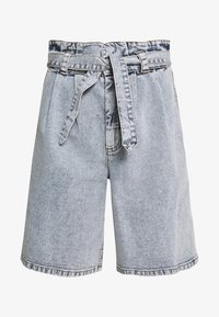 ATICA - Shorts di jeans - light blue