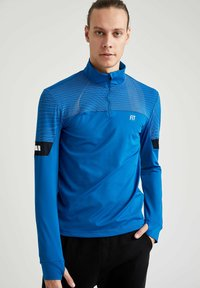 DeFacto Fit - Long sleeved top - blue - 0