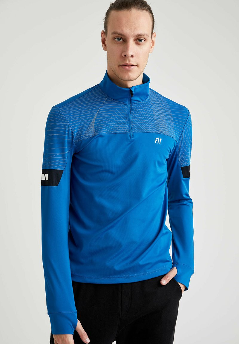 DeFacto Fit - Long sleeved top - blue