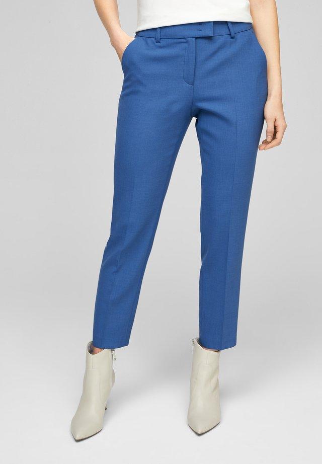 BROEKEN - Chino - mottled blue