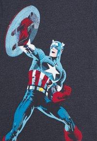 GAP - BOY - T-shirt print - navy heather - 3