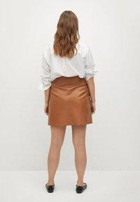 Violeta by Mango - A-line skirt - mittelbraun - 2