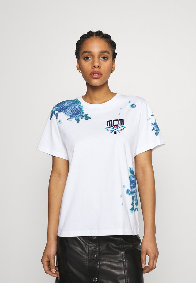 SHORT SLEEVES TEE - T-shirts med print - white