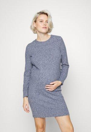 VMMDOFFY  - Pletené šaty - navy blazer