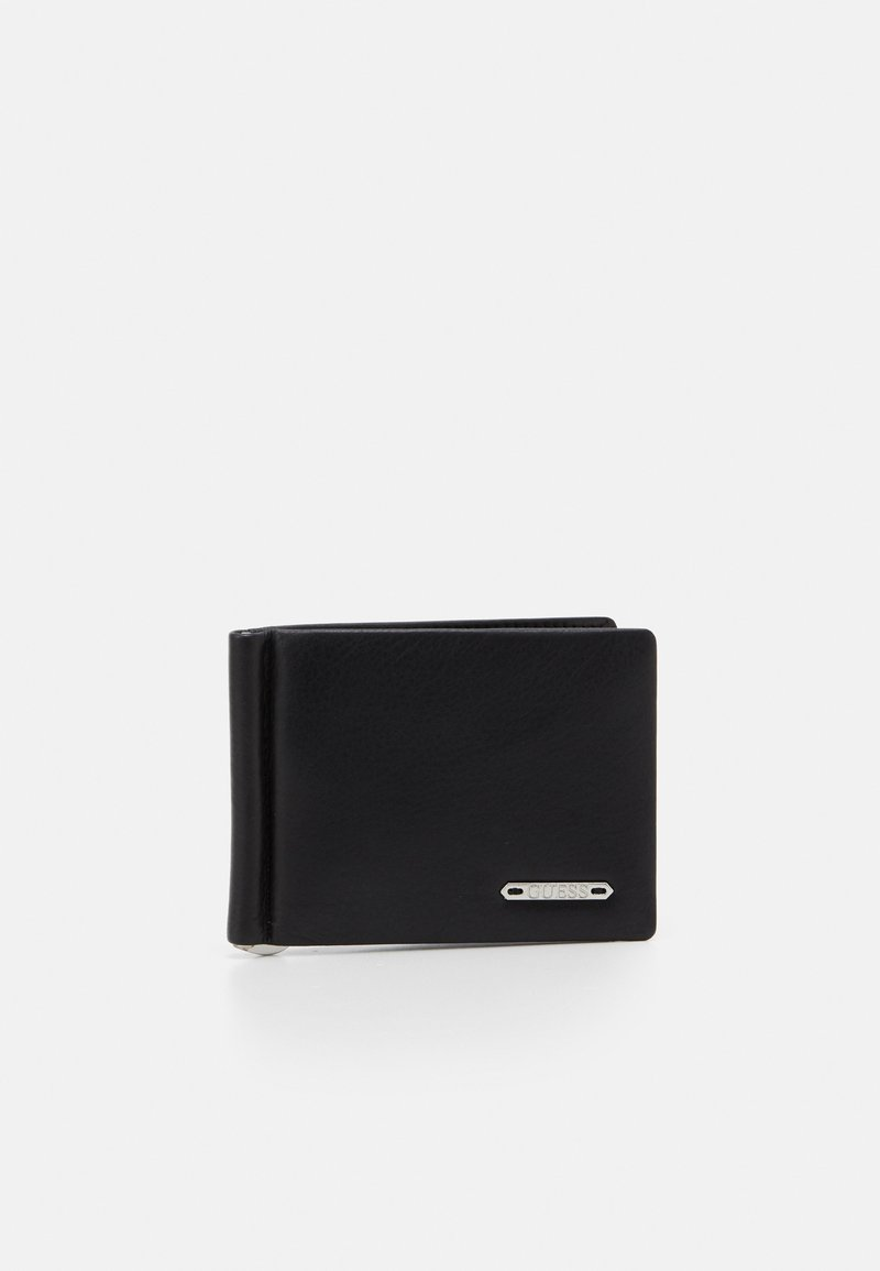 Guess - TYLER MONEY CLIP CARD CASE - Wallet - black