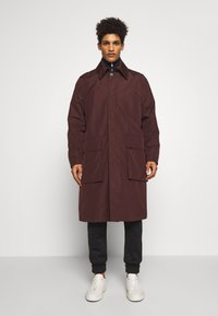 Tiger of Sweden - ACAULE - Classic coat - burgundy - 0