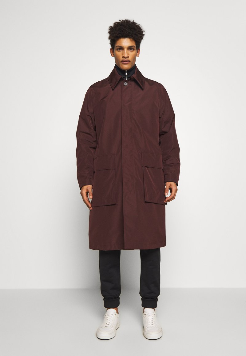Tiger of Sweden - ACAULE - Classic coat - burgundy