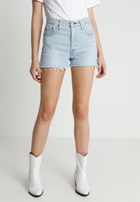Levi's® - 501 HIGH RISE - Denim shorts - weak in the knees - 0