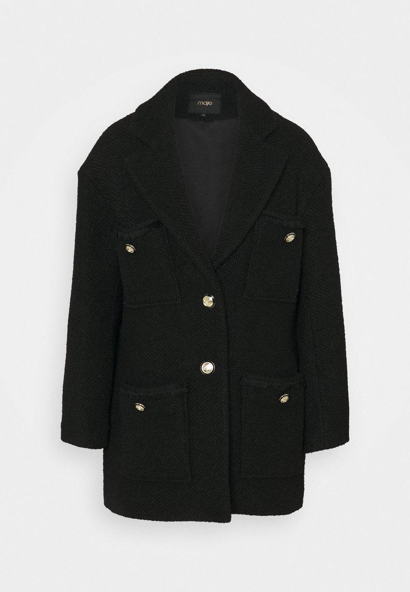 maje - GUILIANA - Krótki płaszcz - noir