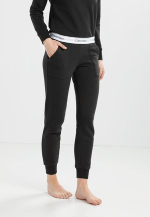 MODERN LOUNGE JOGGER - Pyjama bottoms - black