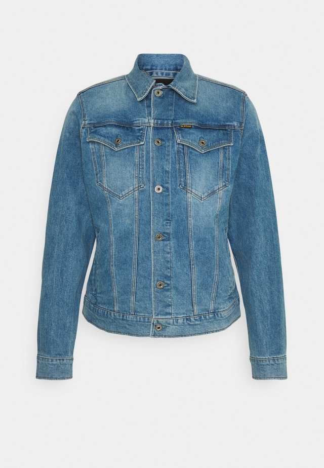 3301 SLIM - Denim jacket - denim/sun faded stone