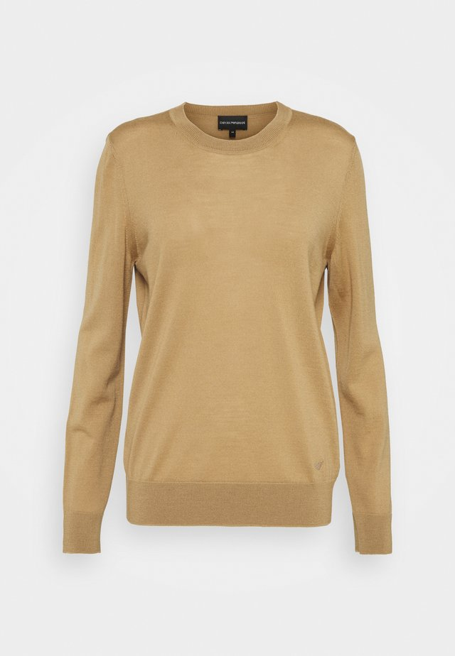 Sweter - camello