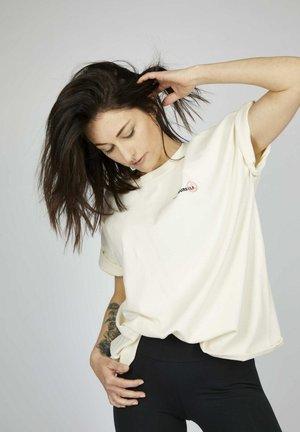 T-shirt con stampa - snow white multicolor