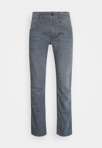 ANBASS LITE - Straight leg -farkut - medium grey