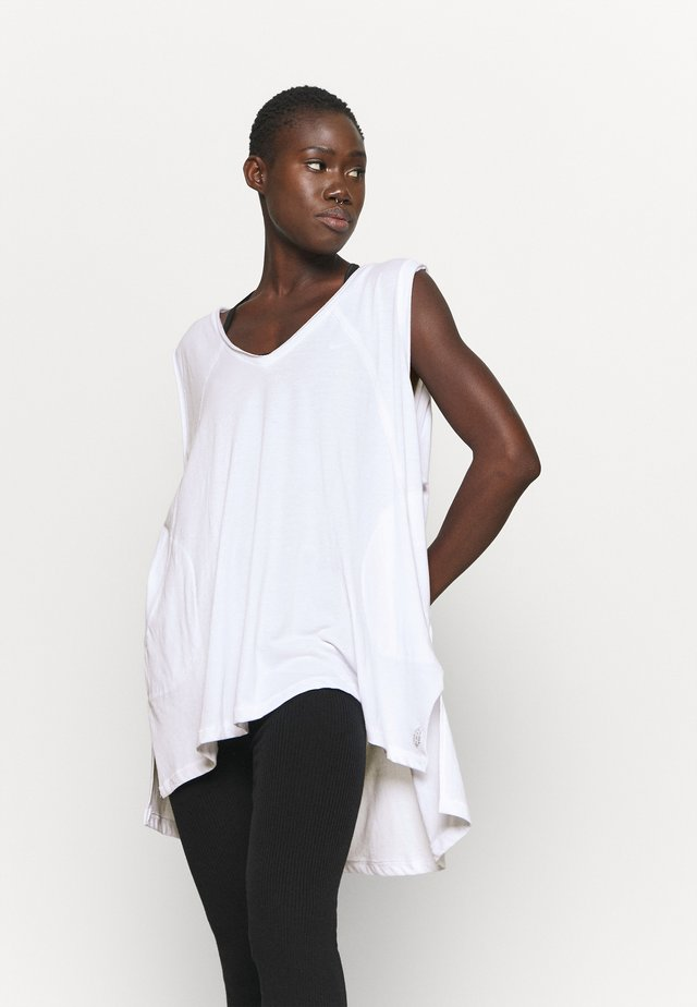 CITY VIBES TANK - Top - white
