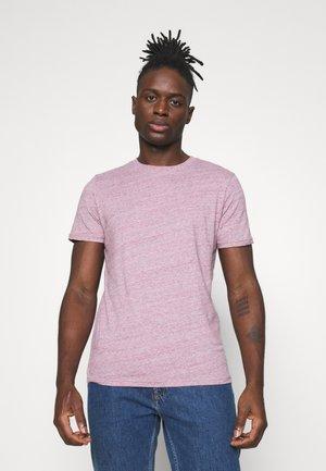 Jednoduché triko - slate rose