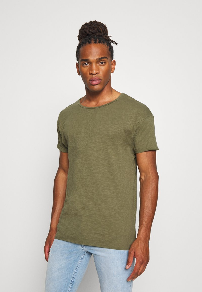 Nudie Jeans - ROGER - T-shirt basic - green