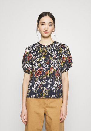 ONLZILLE PUFF TOP - Blouse - night sky