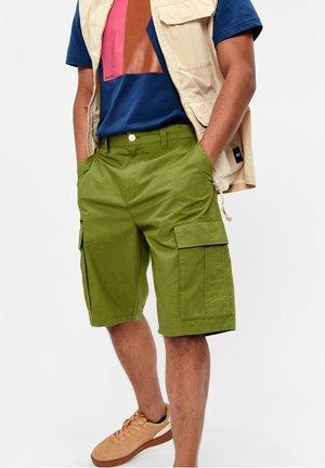 CATALIO - BERMUDA CARGO - Shorts - vert