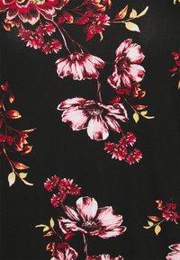 CAPSULE by Simply Be - 3/4 SLEEVE TUNIC - Long sleeved top - black - 4