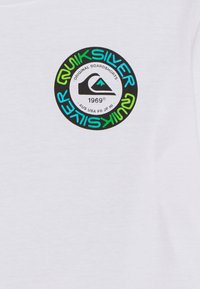Quiksilver - TIME CIRCLE YOUTH - Print T-shirt - white - 2