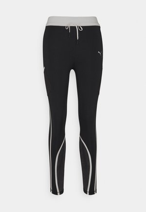 TRAIN FIRST MILE 7/8  - Tights - black/eggnog