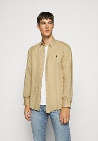 Polo Ralph Lauren - LONG SLEEVE - Camicia - coastal beige - 0