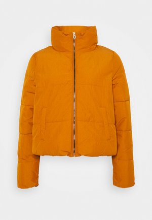ONLDOLLY SHORT PUFFER JACKET  - Winter jacket - pumpkin spice