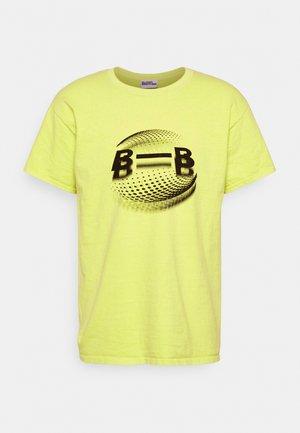 RACINE TEE - Print T-shirt - straw