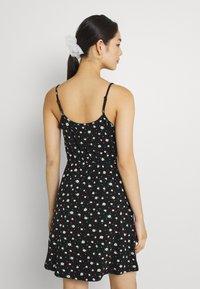 Even&Odd - Sukienka z dżerseju - black/white - 2