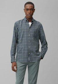 Marc O'Polo - Shirt - multi/green bay - 0