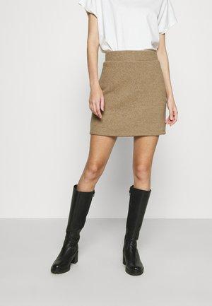 VMESRA SHORT SKIRT - Mini skirt - silver mink