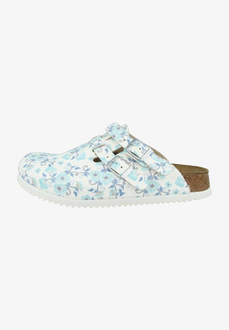 Birkenstock - Clogs - white, blue