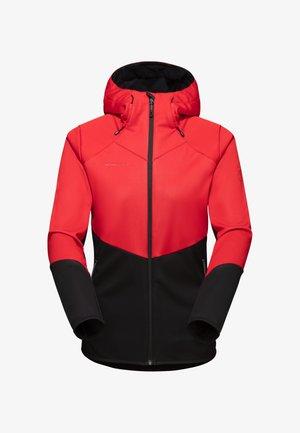 Outdoor jacket - black-magma