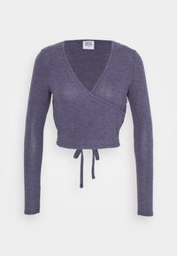 BDG Urban Outfitters - COZY BALLET WRAP - Strikkegenser - purple - 0